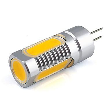 100-150 lm G4 LED Bi-Pin lamput 5 ledit COB Lämmin valkoinen Kylmä valkoinen DC 12V
