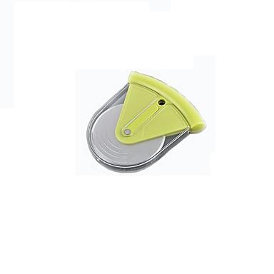 ev için paslanmaz çelik bıçak ile plastik saplı tekerleği ile pizza kesici, mini bir pizza kesici ve tekerleği onbeşinci olabilir