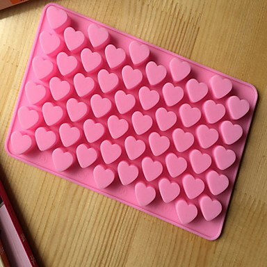 bakeware καρδιάς σιλικόνης σε σχήμα καλούπια ψησίματος για σοκολάτας cm-87