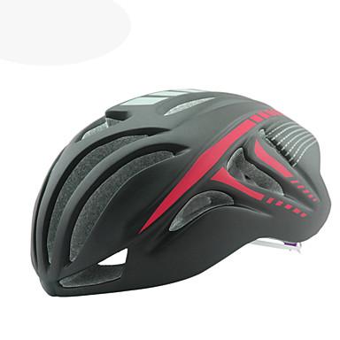 Bisiklet kaskı CE Bisiklet 18 Delikler Ayarlanabilir One Piece Dağ Aerodinamik Kask Ultra Hafif (UL) Sporlar EPS+EPU Dağ Bisikletçiliği