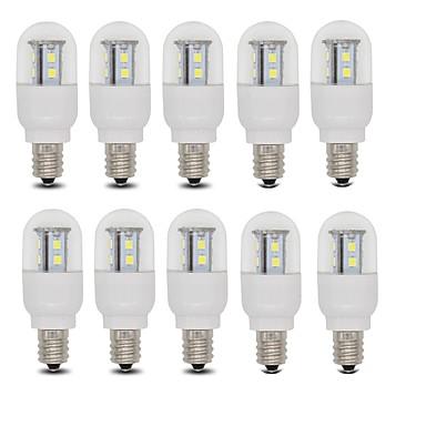 E14 E12 LED Küre Ampuller T 15 SMD 2835 385 lm Sıcak Beyaz Serin Beyaz AC 220-240 V 10 parça