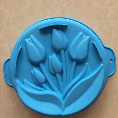 ψήσιμο Mold Πάγος Σοκολατί Πίτσα Πίτες Cupcake Μπισκότα Κέικ Ψωμί Other Σιλικόνη Φτιάξτο Μόνος Σου Υψηλή ποιότητα 3D Αντικολλητικό