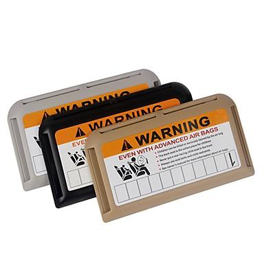ziqiao samochodowy daszek klip organizator szerokopasmowy IC karty klip wielofunkcyjny telefon tymczasowy parking posiadacz karty
