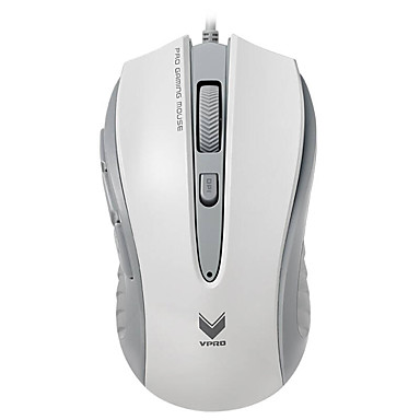 rapoo v300c 게이밍 마우스 4 모드 조절 4000 dpi로의 프로그래머블 광 컴퓨터 pc 노트북 호흡 8 버튼