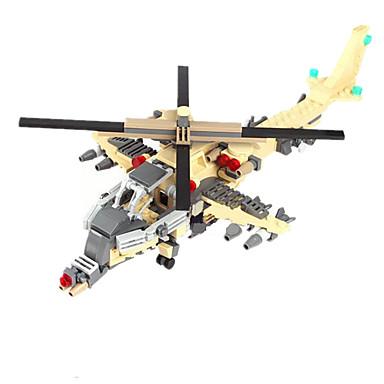 Φιγούρες δράσης και λούτρινα ζωάκια Τουβλάκια για δώρο Τουβλάκια Τανκ Ποελμικό Πλοίο Fighter Ελικόπτερο 5 ως 7 χρονών 8 ως 13 χρονών 14