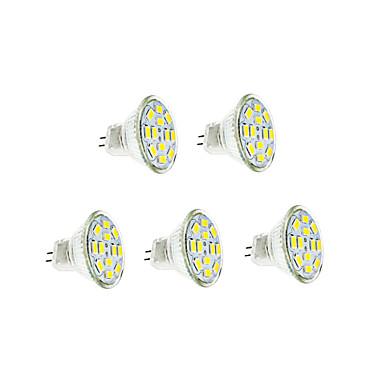 3W 250-300 lm GU4(MR11) Lâmpadas de Filamento de LED 12 leds SMD 5730 Branco Quente Branco Frio DC 12V