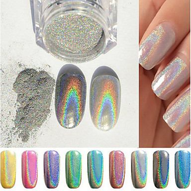 1 Nail Art Decoration tekojalokivi Pearls meikki Kosmeettiset Nail Art Design