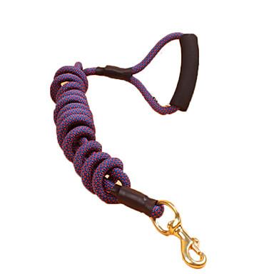 Köpek Tasma Kayışı Ayarlanabilir / İçeri Çekilebilir Güvenlik Benekli Kumaşlar Naylon Mor Sarı Kırmzı Mavi