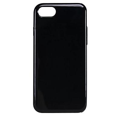 Için Şoka Dayanıklı Pouzdro Arka Kılıf Pouzdro Solid Renkli Yumuşak TPU için AppleiPhone 7 Plus / iPhone 7 / iPhone 6s Plus/6 Plus /