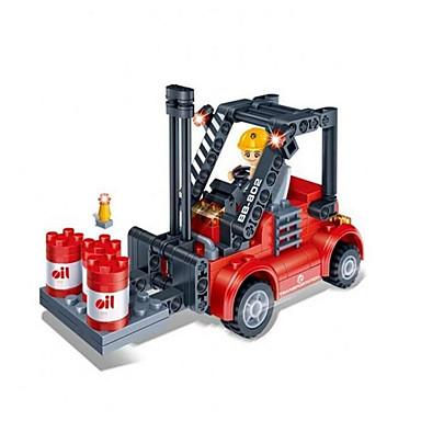 Legolar Hediye için Legolar Model ve İnşaa Oyuncakları Forklift ABS Gümüş Siyah Solmaya Oyuncaklar