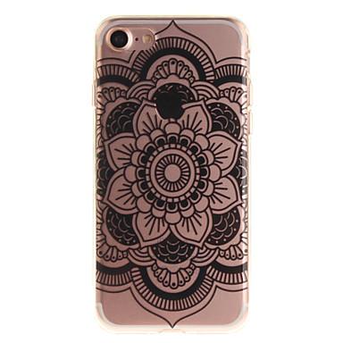 Etui Käyttötarkoitus Apple iPhone 7 Plus iPhone 7 IMD Takakuori Mandala Pehmeä TPU varten iPhone 7 Plus iPhone 7 iPhone 6s Plus iPhone 6s