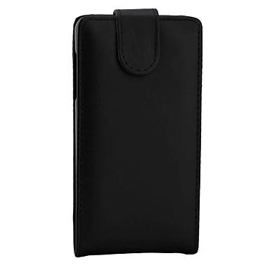 Кейс для Назначение Nokia Lumia 950 Nokia Lumia 640 Nokia Nokia Lumia 850 Флип Чехол Сплошной цвет Твердый Кожа PU для