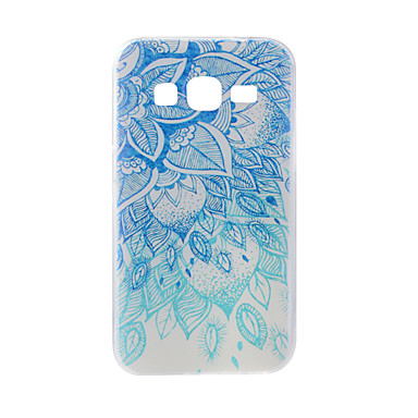 Kılıf Na Samsung Galaxy J7 (2016) J5 (2016) Wzór Etui na tył Koronka Printing Miękkie TPU na On7(2016) On5(2016) J7 (2016) J7 J5 (2016)
