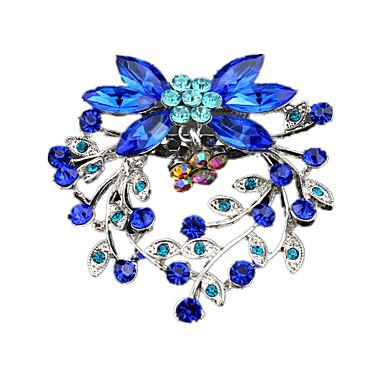 Damskie Broszki Luksusowy Modny Europejski Akrylowy Imitacja diamentu Biżuteria Na Ślub Impreza Codzienny Casual
