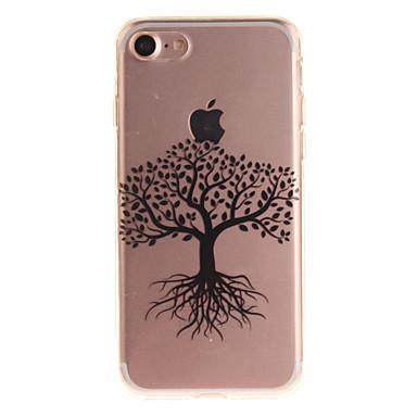 Για IMD tok Πίσω Κάλυμμα tok Δέντρο Μαλακή TPU για Apple iPhone 7 / iPhone 6s/6