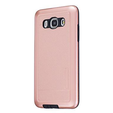 Etui Käyttötarkoitus Samsung Galaxy J5 (2016) Pinnoitus Takakuori Yhtenäinen väri Kova PC varten J7 J5 (2016) J5