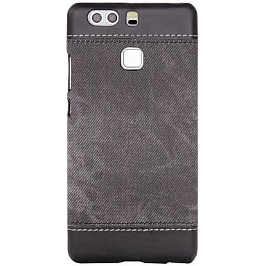 Για Ανθεκτική σε πτώσεις tok Πίσω Κάλυμμα tok Μονόχρωμη Σκληρή Συνθετικό δέρμα για HuaweiHuawei P9 / Huawei P9 Lite / Huawei P8 / Huawei
