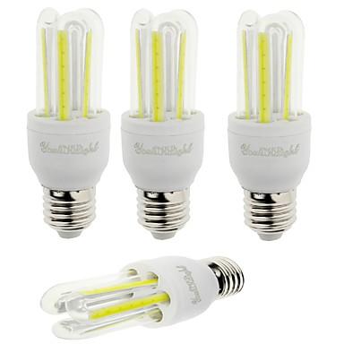 YouOKLight 600 lm E26/E27 LED 콘 조명 T 6 LED가 COB 장식 차가운 화이트 AC 85-265V