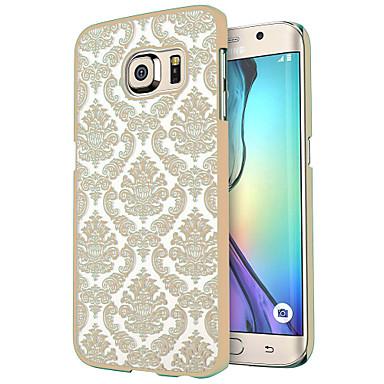 케이스 제품 Samsung Galaxy Samsung Galaxy S7 Edge 투명 패턴 뒷면 커버 타일 PC 용 S7 edge S7