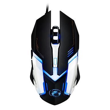 IMICE NHG01 Vezetékes Gaming Mouse DPI állítható Backlit 800/1200/1600/2400