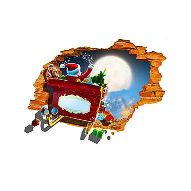 Διακοπών / 3D Αυτοκολλητα ΤΟΙΧΟΥ 3D Αυτοκόλλητα Τοίχου Διακοσμητικά αυτοκόλλητα τοίχου,pvc Υλικό Αρχική Διακόσμηση Wall Decal