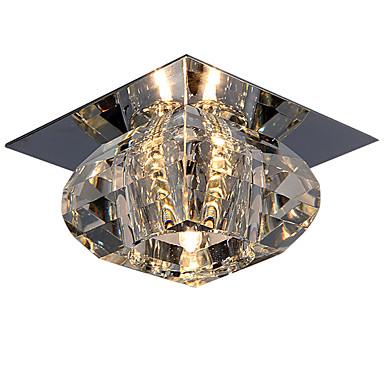 economico Luci da soffitto-LightMyself™ Montaggio del flusso Faretto Cromo Cristallo, Stile Mini 110-120V / 220-240V Lampadine incluse / G4