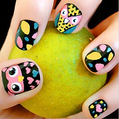 Sztuka zdobienia paznokci Fałszywe paznokcie Klasyczny Chic & Modern Modny Wysoka jakość Codzienny Nail Art Design