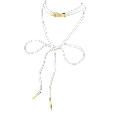 Γυναικεία Κολιέ Τσόκερ Νάιλον Βασικό Μοντέρνα Μαύρο Φυσικό Άσπρο Κοσμήματα Πάρτι 1pc