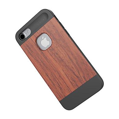 Για Ανθεκτική σε πτώσεις tok Πίσω Κάλυμμα tok Νερά ξύλου Σκληρή Μπαμπού για Apple iPhone 7