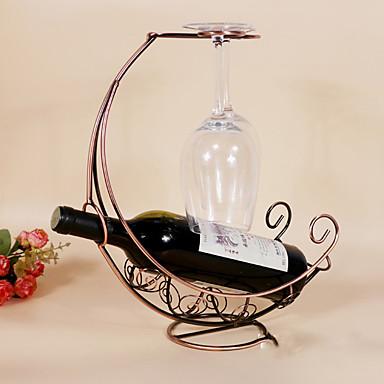 رفوف النبيذ حديد زهر,31*12.5*35CM خمر إكسسوارات