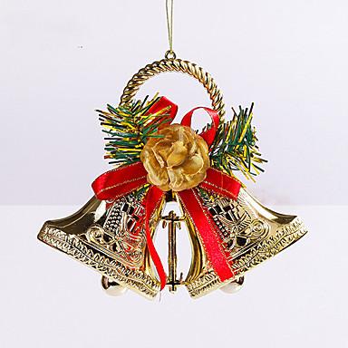 2szt prezenty świąteczne dekoracje Rola ofing ozdoby choinkowe christmas gift powiesić actthe rolę dzwonka