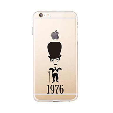 Için Temalı Pouzdro Arka Kılıf Pouzdro Karikatür Yumuşak TPU için AppleiPhone 7 Plus / iPhone 7 / iPhone 6s Plus/6 Plus / iPhone 6s/6 /