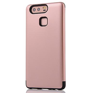 Käyttötarkoitus kotelot kuoret Iskunkestävä Takakuori Etui Yhtenäinen väri Kova PC varten Huawei Huawei P9 Huawei P8 Huawei Mate 8 Huawei