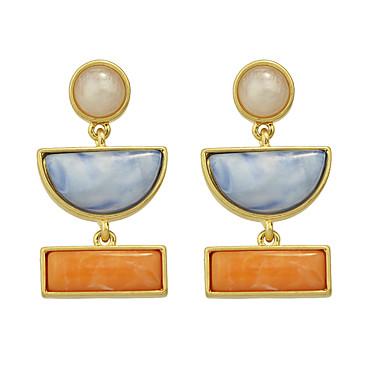نساء أقراط قطرة حجر الراين والمجوهرات فيروز سبيكة مجوهرات من أجل يوميا