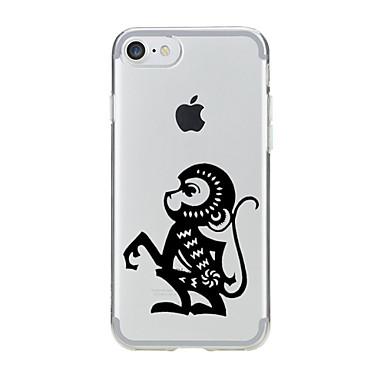 Για Με σχέδια tok Πίσω Κάλυμμα tok Ζώο Μαλακή TPU για AppleiPhone 7 Plus / iPhone 7 / iPhone 6s Plus/6 Plus / iPhone 6s/6 / iPhone