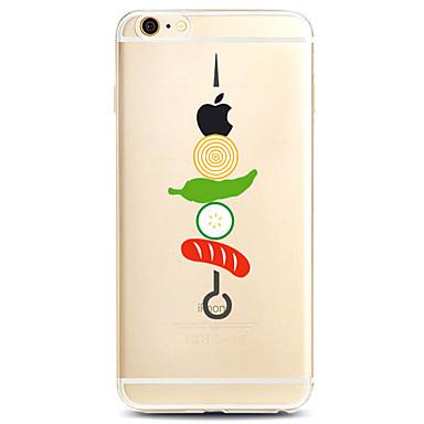 Για Θήκη iPhone 7 Θήκη iPhone 7 Plus Θήκη iPhone 6 Θήκες Καλύμματα Με σχέδια Πίσω Κάλυμμα tok Παίζοντας με το λογότυπο της Apple Μαλακή