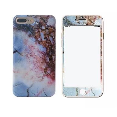 Mert IMD Case Hátlap Case Márvány Puha TPU Apple iPhone 7 Plus / iPhone 7 / iPhone 6s Plus/6 Plus / iPhone 6s/6