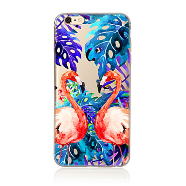 Plus 8 Per iPhone iPhone Per 8 Fantasia per Traslucido Custodia X Fenicottero Plus 05399263 iPhone iPhone X TPU iPhone Apple Morbido iPhone 7 8 disegno retro Ywqfd1