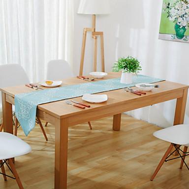 Prostokątny Wzorzyste Bieżniki , Mieszanka bawełny Materiał Hotel Stół / Wedding Party Decoration / Tabela Dceoration