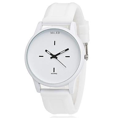 Xu™ Damskie Zegarek na bransoletce Modny Kwarcowy PU Pasmo Vintage Na co dzień Czarny Biały