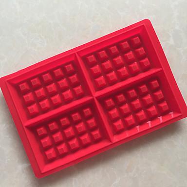 Pişirme Kalıp Buz Çikolota Pizza Tart Cupcake Kurabiye Kek Ekmek Other Silikon Kendin-Yap Yüksek kalite 3D Yapışmaz