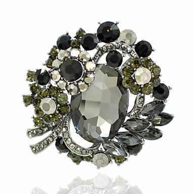 Damskie Broszki Gray Czerwony Grey Biżuteria Codzienny Casual Biżuteria kostiumowa