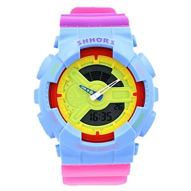 Γυναικεία Ψηφιακό ρολόι Ρολόι Καρπού Μοδάτο Ρολόι Αθλητικό Ρολόι Χαλαζίας Ψηφιακό Συναγερμός Ημερολόγιο Χρονογράφος Ανθεκτικό στο Νερό