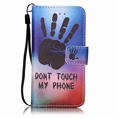 kézi festés pu telefon tok alma itouch 5 6 ipod tok / borító