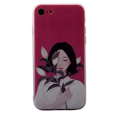 Na Wytłaczany wzór / Wzór Kılıf Etui na tył Kılıf Seksowna dziewczyna Twarde Akrylowy na AppleiPhone 7 Plus / iPhone 7 / iPhone 6s Plus/6