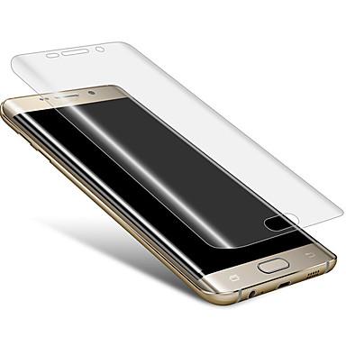 geval ultradunne transparant kristal film soft screen protector voor de Samsung Galaxy s7 rand