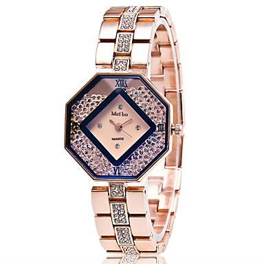 Xu™ Γυναικεία Μοδάτο Ρολόι Ρολόι με αιωρούμενους κρυστάλλους Ρολόι Καρπού Χαλαζίας κράμα Μπάντα Πεπαλαιωμένο Καθημερινά Χρυσό