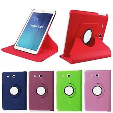 voordelige Samsung Tab-serie hoesjes / covers-hoesje Voor Tab S 10.5 / Tab S 8.4 / Samsung Galaxy Tab 4 10.1 / Tab 4 8.0 / Tab 3 7.0 360° rotatie / met standaard / Flip Volledig hoesje Effen PU-nahka