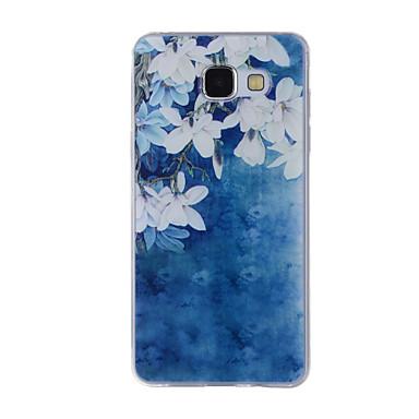 Etui Käyttötarkoitus Samsung Galaxy A5(2016) A3(2016) Kuvio Takakuori Kukka Pehmeä TPU varten A8(2016) A5(2016) A3(2016) A8 A7 A5 A3