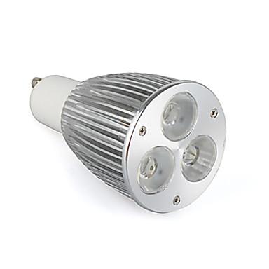 800-900 lm GU10 LED Spot Lampen MR16 3 Leds Hochleistungs - LED Warmes Weiß Wechselstrom 85-265V
